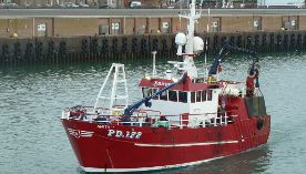 Don Fishing Peterhead Vessel Amity II