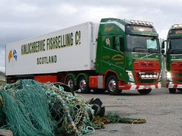 Don Fishing Company Operations Kinlochbervie Transport