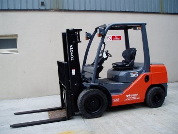 Don Fishing Company Operations Peterhead Forklift Hire